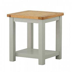 Portland Stone Lamp Table