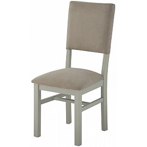Portland Stone Grand Dining Chair with Fabric Back