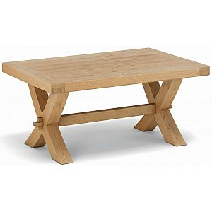 Fairford Coffee Table Crossed Leg