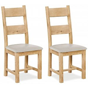 Fairford 2 Slatted Dining Chair