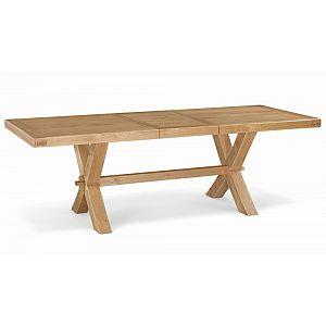 Fairford 190cm /240cm Extending Cross Leg Table
