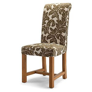 Chicago Floral Sage Chair