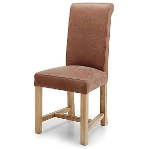 Chicago Latte Leather Chairs
