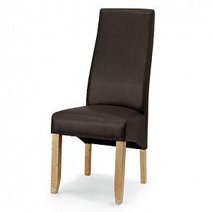 Wavey Chocolate Dining Chair Bi Cast