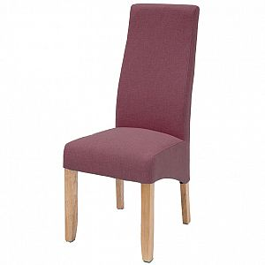 Wavey Damson Dining Chair