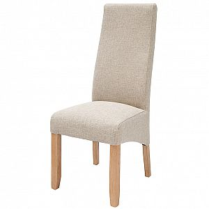 Wavey Hessian Dining Chair