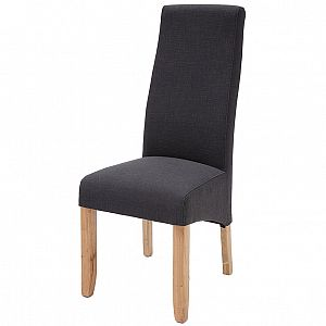 Wavey Noir Dining Chair
