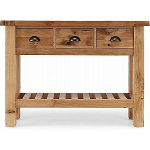 Normandy 3 Drawer Console Table