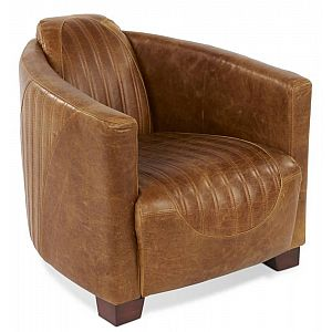 Sovereign Chair Brown Cerato Leather