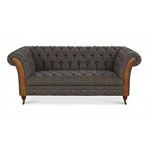 Bretby 2 Seater Sofa Harris Tweed Uist Night