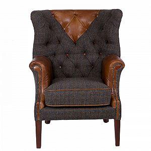 Kensington Chair Harris Tweed UIST Night/Cerato