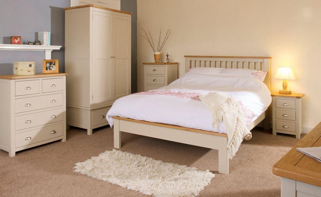 Merveilleux ... Portland Cream 4u00276 Double Bed ...