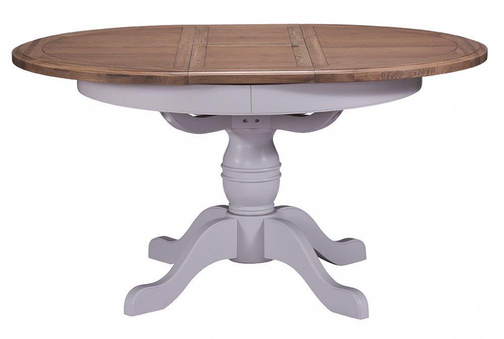 Georgia Round Extending Dining Table 110cm Ext 145cm