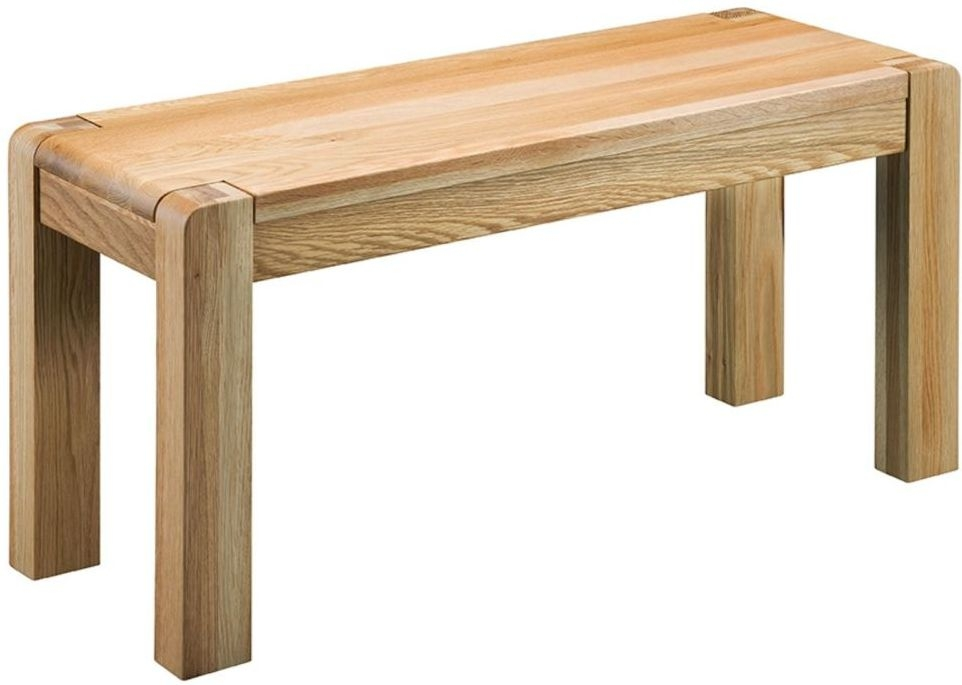 Oslo Oak Bench