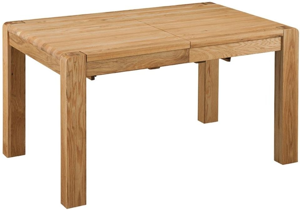 Oslo Oak Dining Table - Extending 140cm - 180cm, Chairs Furniture