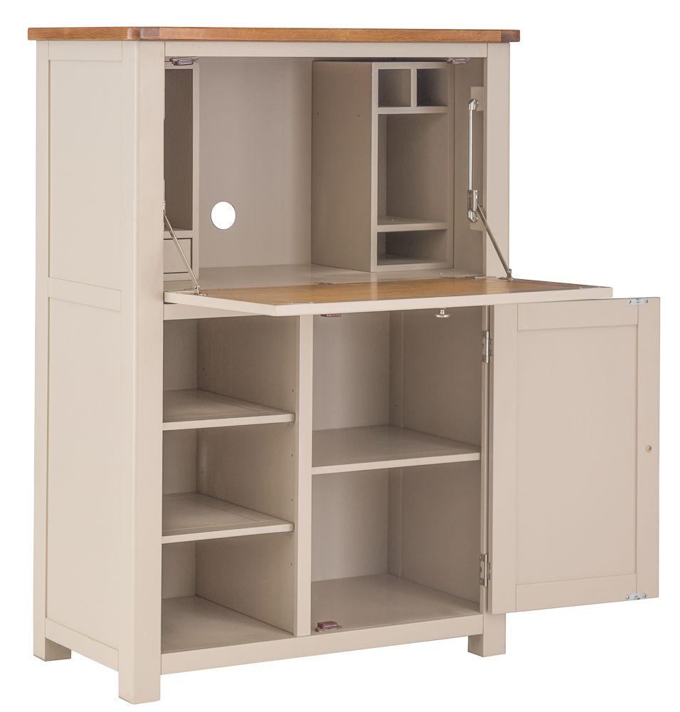 painted office furniture. Portland Stone Office Low Bureau Painted Furniture I