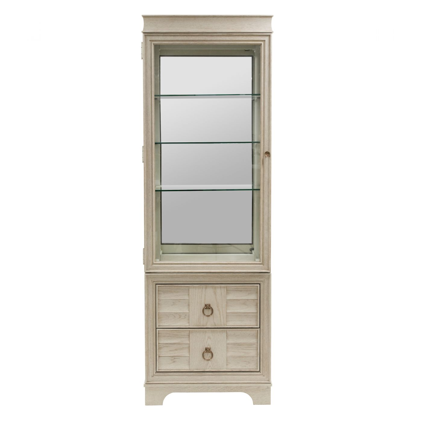 Vermont Narrow Glazed Display Cabinet