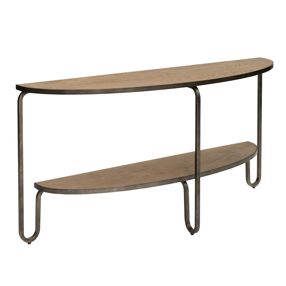 Revival Camden Half Oval Console Table