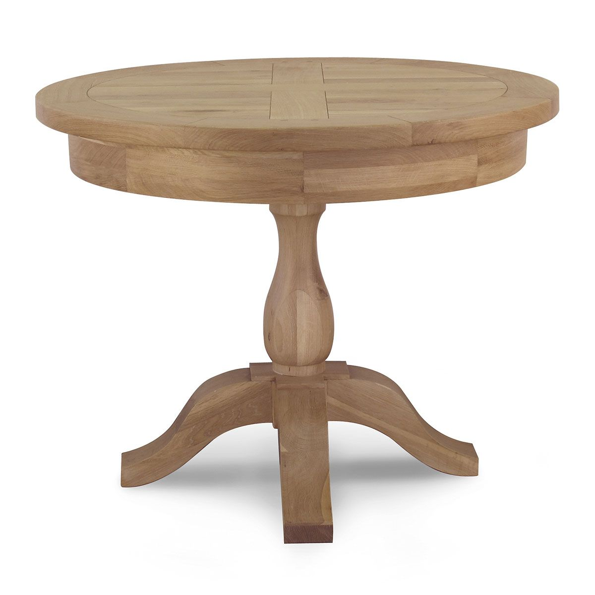 Tuscany Extending Round Dining Table Dining Room Willis