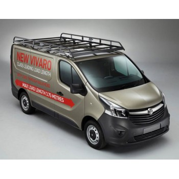 Rhino Modular Roof Rack - Fiat Talento 2016 Onwards LWB Low Roof Twin Doors