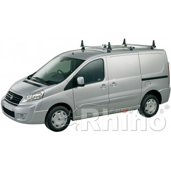 Rhino Delta 3 Bar System - Fiat Scudo 2007 - 2016 Low Roof Twin Doors