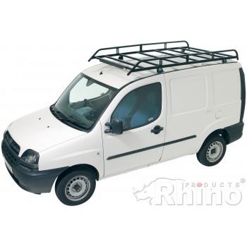 Rhino Modular Roof Rack - Fiat Doblo 2000 - 2010 SWB Low Roof Twin Doors
